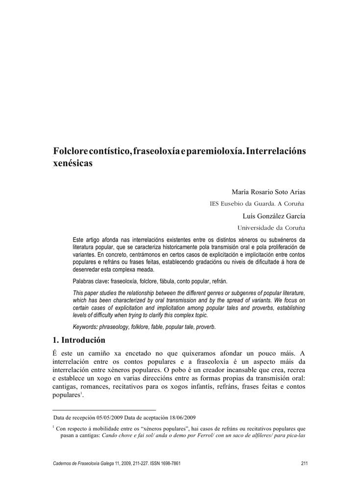 Cadernos De Fraseoloxia Galega 5 New Font 2 Copiaindd