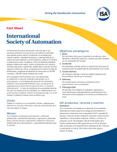 International Society of Automation
