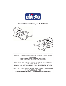 Chicco Hippo and Caddy Hook