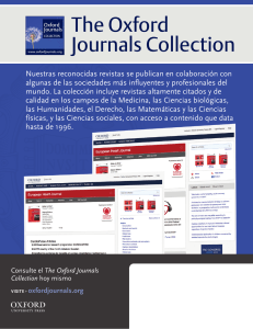 The Oxford Journals Collection