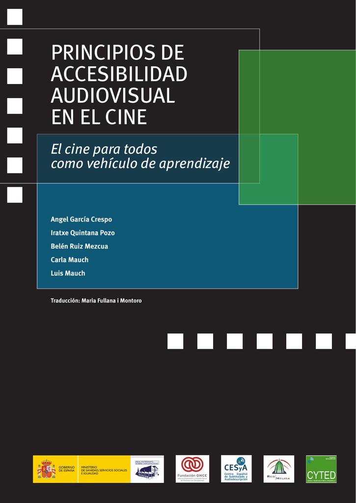 principios de accesibilidad audiovisual en el cine f2a83c6b0dd