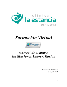 Manual de Usuario universidades