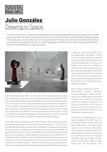 Julio González Drawing in Space