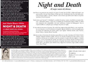 Night and Death - Editorial Almuzara