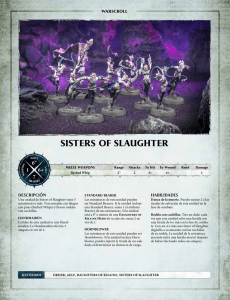 sisters of slaughter