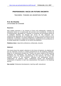 [Resumen] [Abstract] - Universidad de Granada