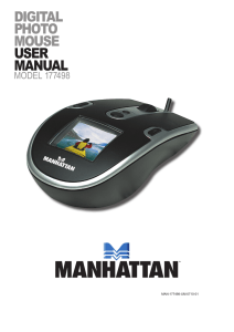 digital photo mouse user manual