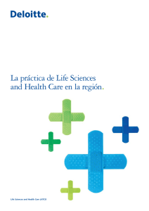 La práctica de Life Sciences and Health Care en la región.