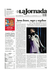 James Brown, negro y orgulloso