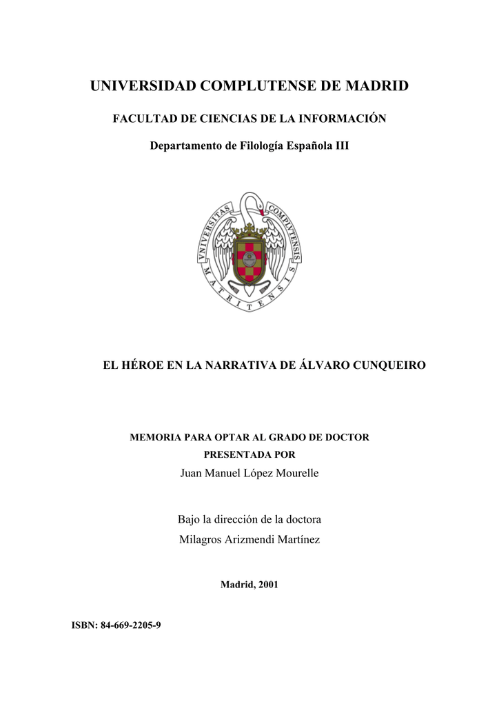 Biblioteca Complutense Universidad Complutense De Madrid
