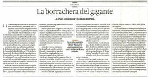 La borrachera del gigante
