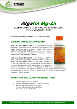 Algafol Mg-Zn