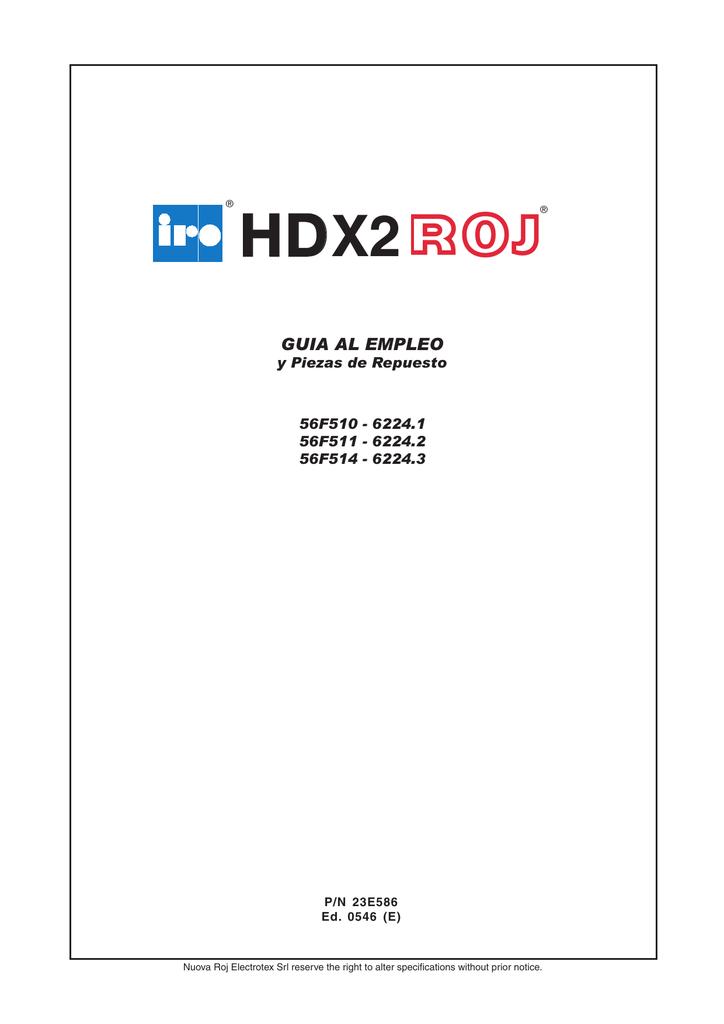 HD10X2 - IRO AB