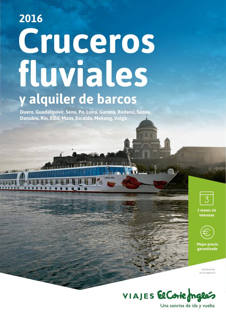 ea8ac1f25796 Cruceros Fluviales - Viajes el Corte Ingles