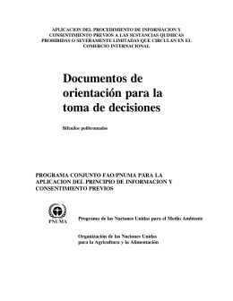 documentos de orientacion para la toma de decisiones