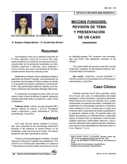 Resumen Abstract Caso Clínico