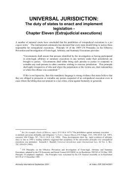 universal jurisdiction essay International crime essay flee jurisdiction - other states condemning actions may have right to prosecute offender under claim of universal jurisdiction.