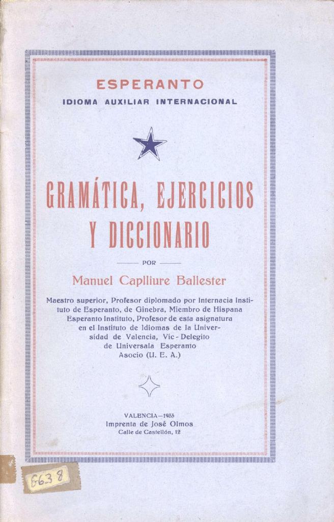 M Federación Española De Esperanto