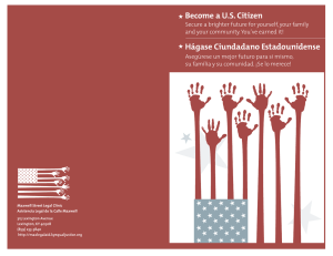 Become a US Citizen - Maxwell Street Legal Clinic