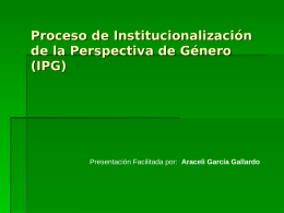 Proceso IPG