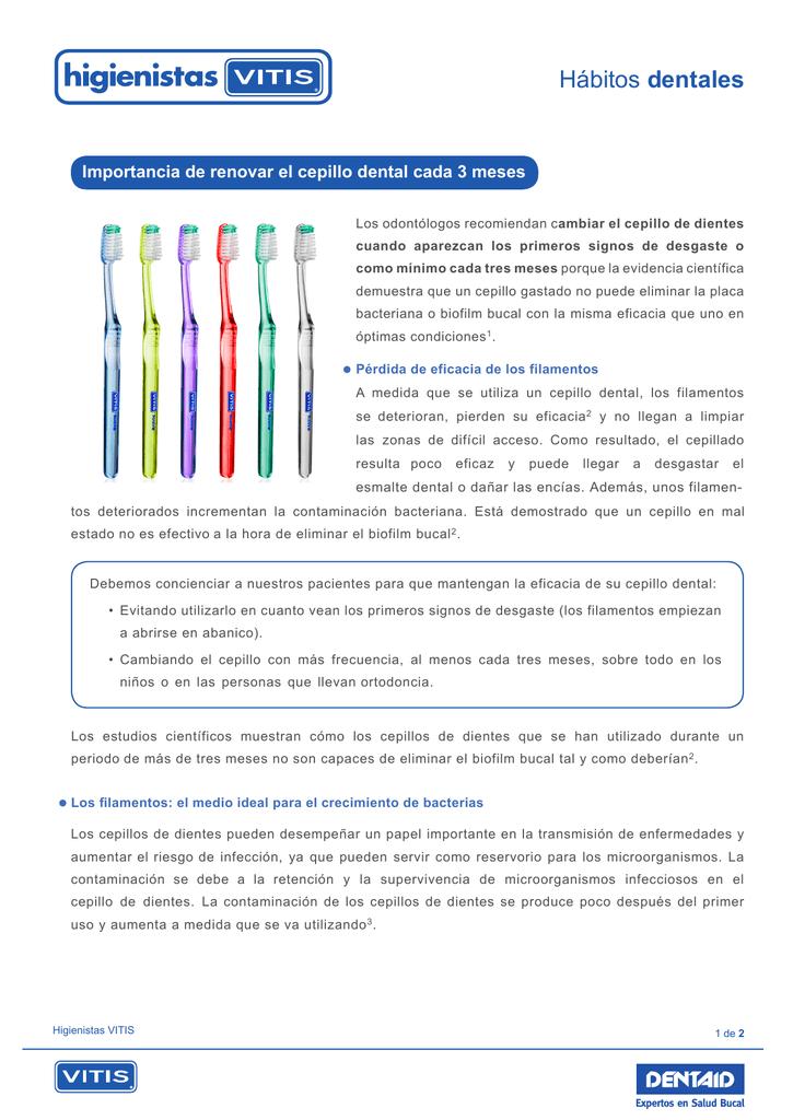 Importancia de renovar el cepillo dental cada 3 meses 3fbcf8ba7499