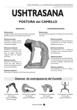 POSTURA del CAMELLO - Revista Yoga Integral