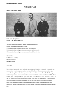 THE BAD PLUS - Teatro Cervantes