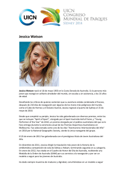 Jessica Watson - IUCN World Parks Congress