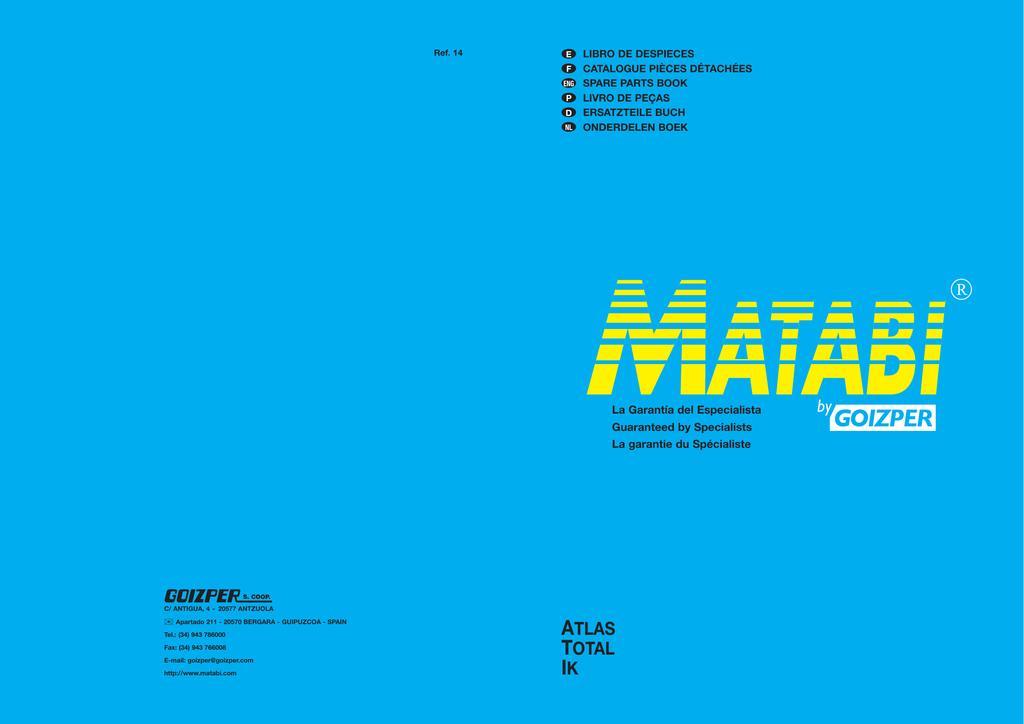 Matabi Junta Redonda An-16 S-16-17 109