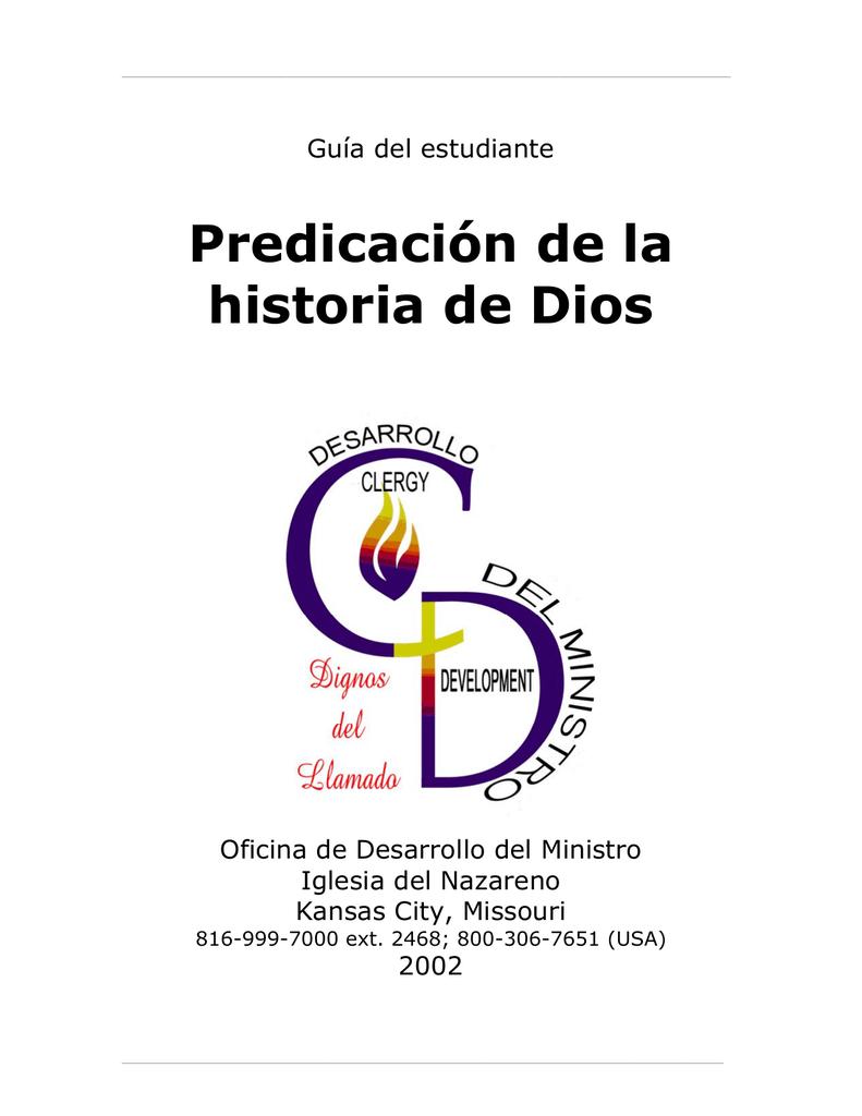 Predicación de la historia de Dios