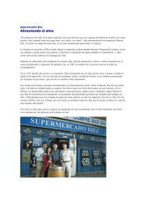 Revista Capital - Supermercado Díez