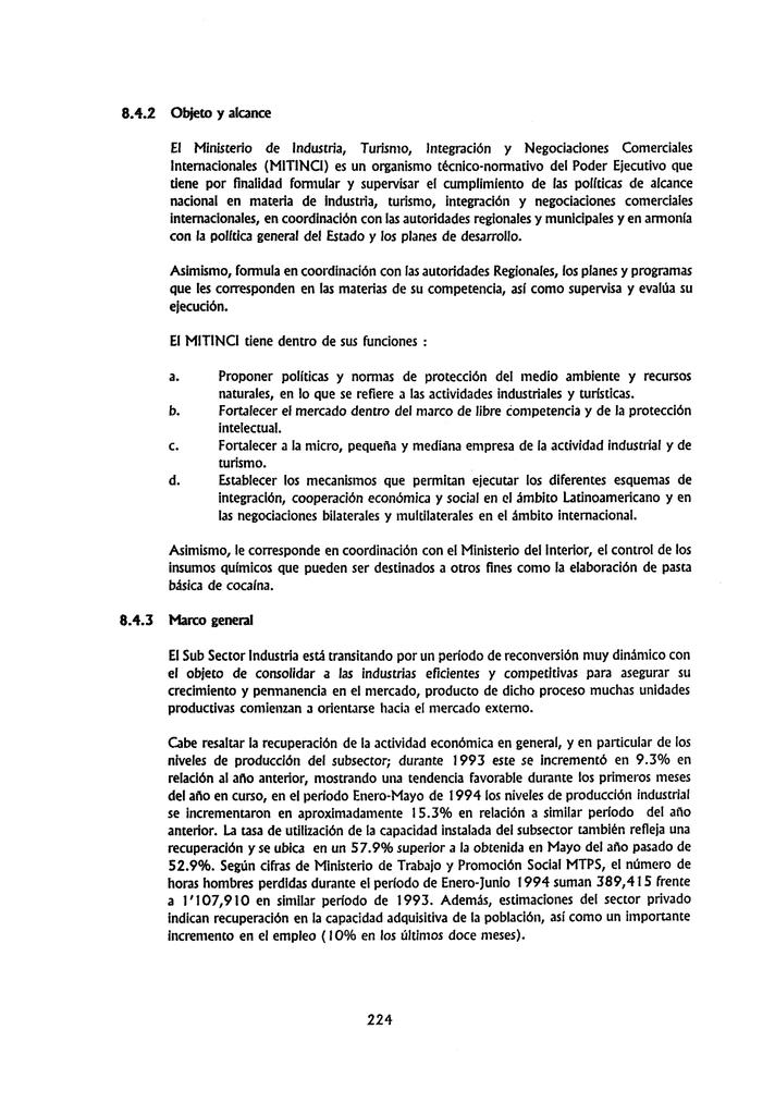 Estructura Institucional Del Sector