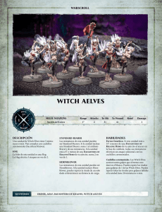 witch aelves - Games Workshop