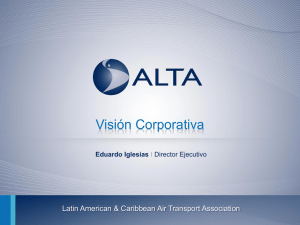 Presentación de PowerPoint - Latin American and Caribbean Air