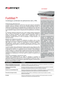 FortiWeb - Arrow ECS