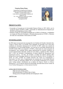 Zhang, Yingying - Universidad Complutense de Madrid