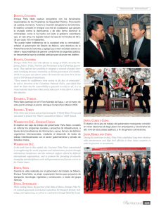 Internacional / International Enrique Peña Nieto met with officials in