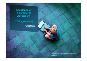 TCE Agreement aceptance - Guide in ACW - 022014