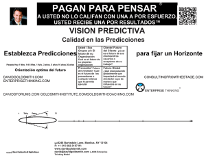 David Goldsmith Forecasting Vision