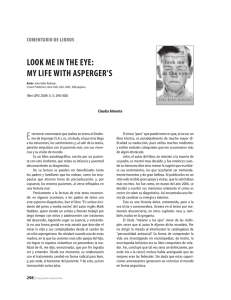 looK me In tHe eye: my lIFe wItH asperger`s