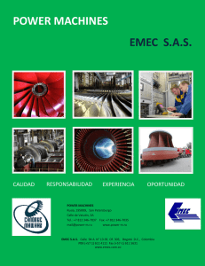 POWER MACHINES EMEC S.A.S.