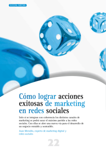 Acciones Exitosas del Marketing