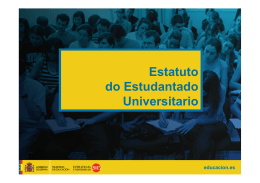 Estatuto do Estudantado Universitario