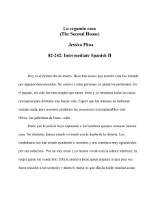 Jessica Phoa 82-242: Intermediate Spanish II