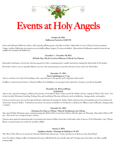 Events at Holy Angels - Holy Angels Catholic Church of the Deaf