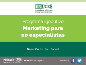 Marketing para no especialistas