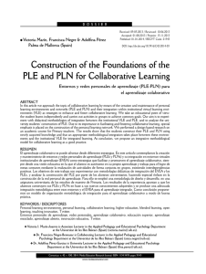 Construction of the Foundations of the PLE and PLN for