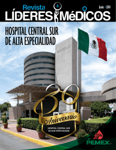 Hospital Central sur de alta espeCialidad