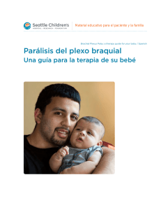 PE604S Brachial Plexus Palsy: A Therapy Guide for Your Baby