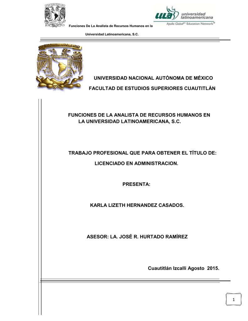 universidad nacional autónoma de méxico - Biblioteca, FES-C